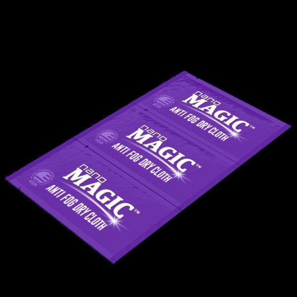 Nano Magic - Anti Fog Dry Cloth Strip - Front Angle