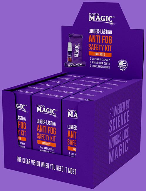 Nano Magic - 1oz Anti Fog Safety Kits