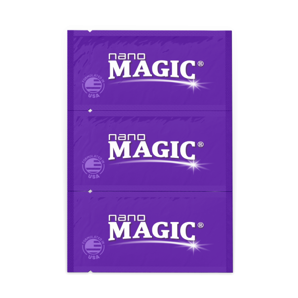 Nano Magic - Screen Cleaning Wipes - Trifold Strip - Front