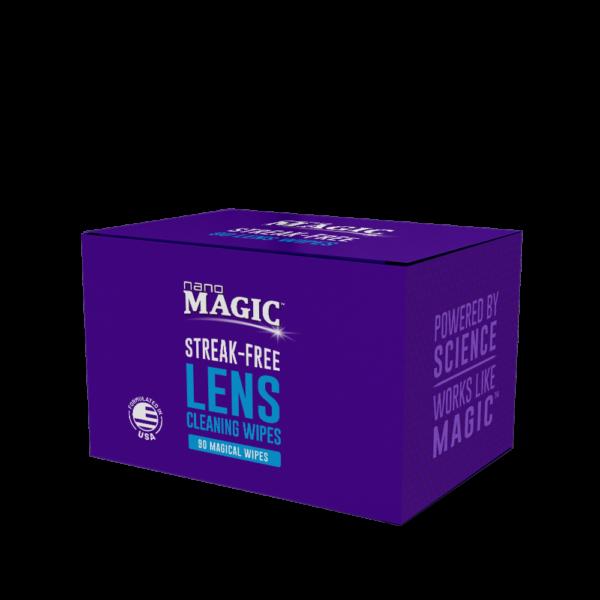 Nano Magic - Lens Cleaning Wipes - 90 Pack Box
