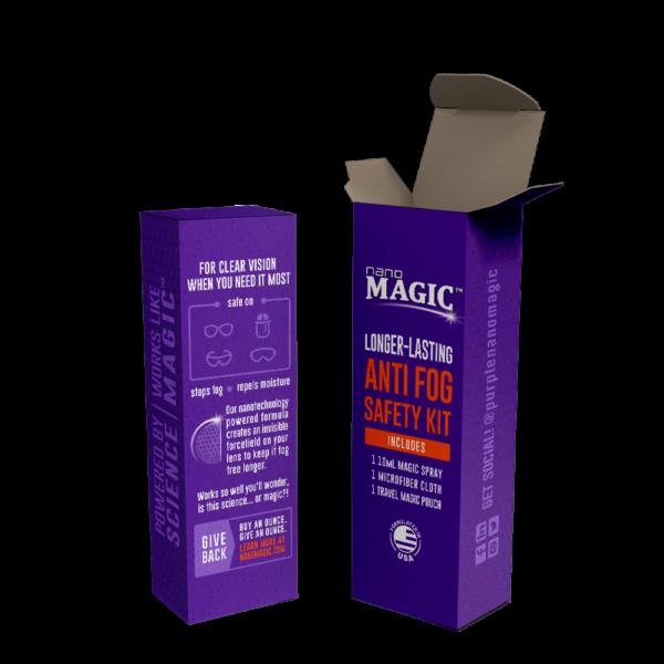 Nano Magic - 10mL Anti Fog Safety Kit - Box