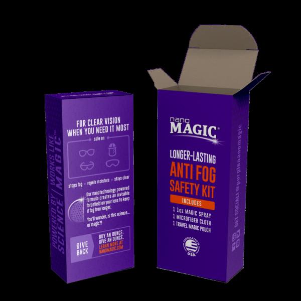 Nano Magic - Anti Fog Safety 1oz Kit - Box