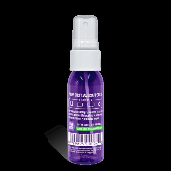 Nano Magic - 1oz Screen Cleaning Travel Kit - Spray Back
