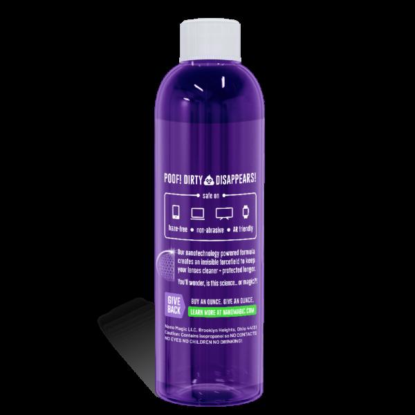 Nano Magic - 1oz Screen Cleaning Recharge Kit - Refill Bottle Back