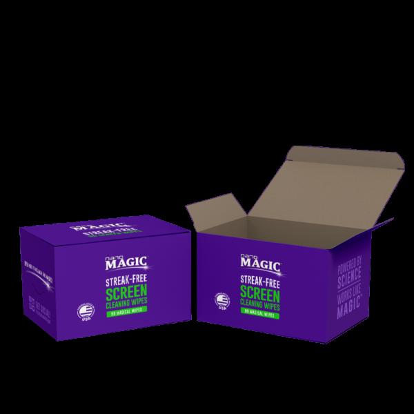 Nano Magic - Screen Cleaning Wipes - 90 Pack Boxes