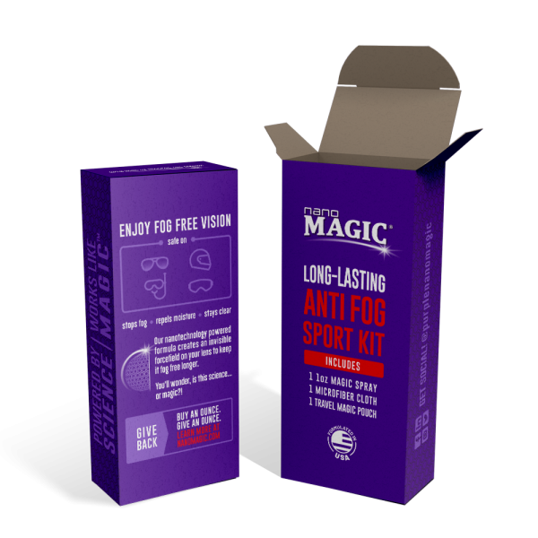 Nano Magic - 1oz Anti Fog Sport Kit - Box